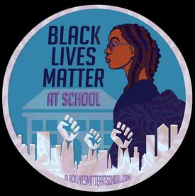 BLM MATTERS AT SCHOOL LOGO